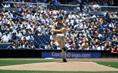 June 22nd, 2008 - San Diego Padres pitcher Randy Wolf during a game versus the Detroit Tigers at Pet