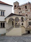 Castle Of Rakoczi In Sarospatak, Hungary.