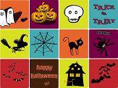 Halloween elements