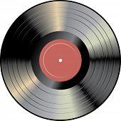 disco de vinilo de Vector
