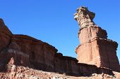 Hoodoo in Palo Duro Canyon