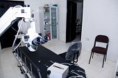 The Operating Theatre At The Nekemte Eye Clinic.