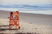 stock photo of coast guard  - Lifeguard seat  - JPG
