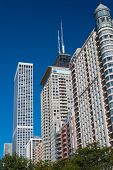 Skyscrapers Of The City Of Chicago