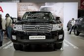 Brussels, Auto Motor Expo Toyota Land Cruiser V8