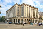 Famous  Theater and Cine Payret building in center old Havana, Cuba