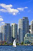Sailing In Toronto Harbor