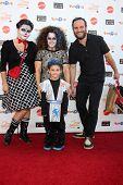 LOS ANGELES - OCT 27:  Emily WInokur, Marissa Jaret Winokur, Zev Miller, Judah Miller at