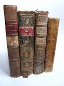 Old Leather-Bound Books