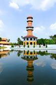 Bang Pa-in Palace In Ayutthaya Province,thailand