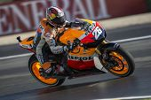 CHESTE - NOVEMBER 10: Dani Pedrosa during GP of the Comunitat Valenciana, on November 10, 2012, in R