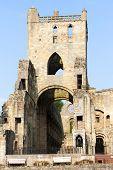 ruins of Jedburgh Abbey, Scottish Borders, Scotland