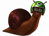 Toon Racing Snail