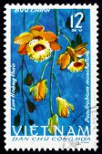 Postage Stamp Vietnam 1966 Musky-smelling Dendrobium, Orchid