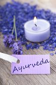 Ayurveda On A Purple Label