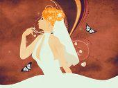 Grunge Beautiful Bride