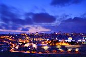 picture of aqsa  - Skyline of the Old City and Temple Mount in Jerusalem - JPG
