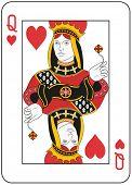 Reina de corazones. Diseño original