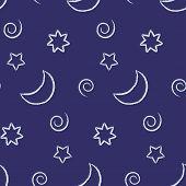 Seamless Night Sky