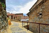 picture of ares  - Streets of the small old town Ares in Spain - JPG