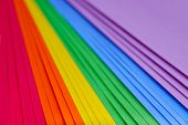 Multicolored Sheets Of Paper