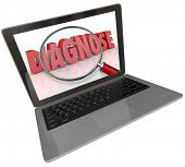 Diagnose Word Laptop Computer Online Medical Help Information