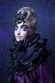 stock photo of evil queen  - Dark queen - JPG