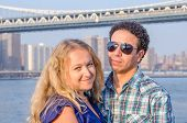 Inter-ethnic couple  in New York