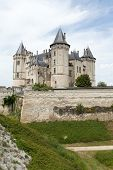 foto of anjou  - Castle of Saumur in Loire Valley France - JPG