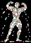 Tablets Pills Bodybuilder