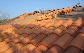 Laying New Roof Tiles