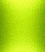 Lime green metal plate texture