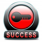 success in life business and live in happiness and joy succeed in plan being successful concept on b