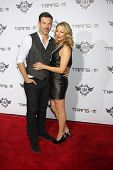 LOS ANGELES - JAN 23:  Eddie Cibrian, LeAnn Rimes at the Annual Trans4m Benefit Concert at Avalon on
