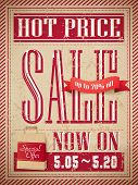Hot Price Sale Poster