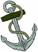marine theme, anchor