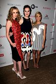 LOS ANGELES - JUL 22:  Laura Carmichael, Michelle Dockery, Joanne Froggatt at the