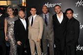 LOS ANGELES - JUL 23:  Hercules Cast at the