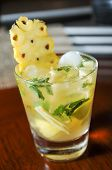 Fresh Pineapple Mojito