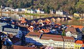 Save Download Preview	  	 Aerial view of Heidelberg, Germany
