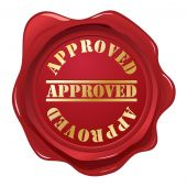 Approved wax seal