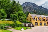 Hohenschwangau village at Neuschwanstein Castle, Germany