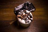 coffee camera vintage