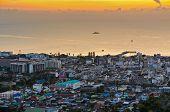 View Hua Hin City At Sunrise