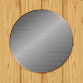 Circle On A Wood
