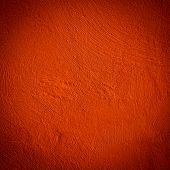 Red Wall Background Close Up Texture