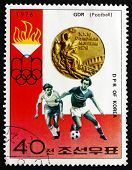 Postage Stamp North Korea 1976 Soccer