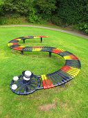 Colourfull Snake Bench