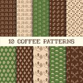 Ten Coffee Patterns