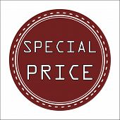 Special Price Icon, Badge, Label or Sticke